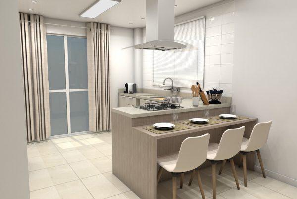 Móveis planejados apartamento pequeno sp