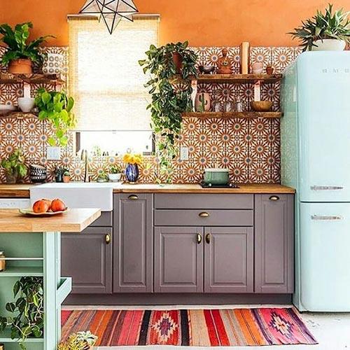 dicas de decoração para cozinha retro