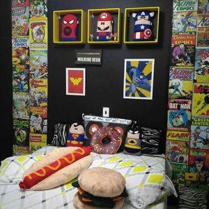 quartos planejados para jovens geeks