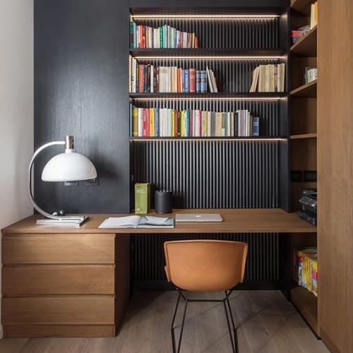 Escritórios pequenos e funcionais