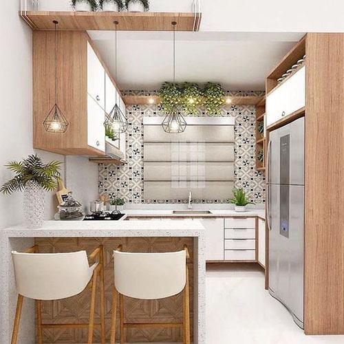 Cozinha planejada para apartamento pequeno