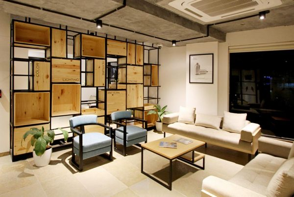 Por que adoramos móveis projetados?